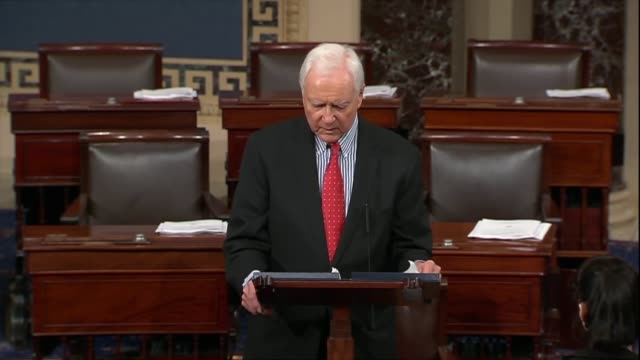 utah senator orrin hatch says israel has a shared and unbreakable bond with the united states in 70 years since its founding he is a friend of israel... - years stock videos and b-roll footage