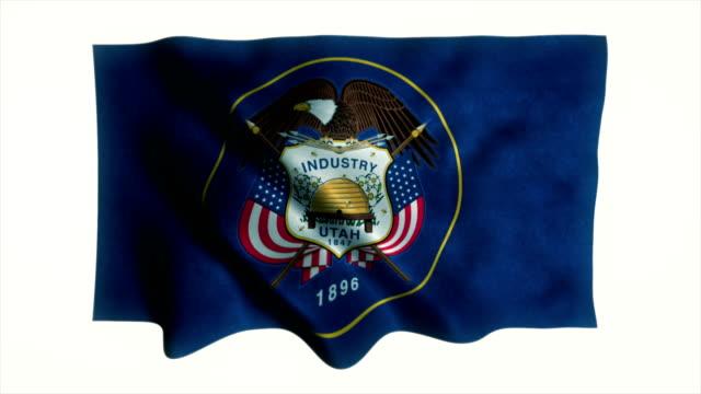 Utah State Flag-Animation