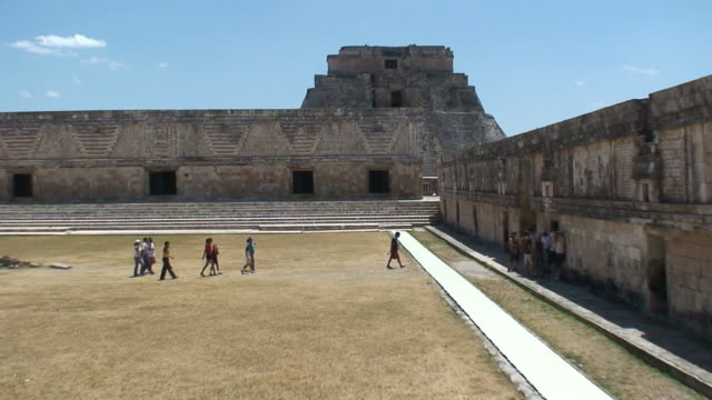 uxmal in mexico - latin american civilizations stock videos and b-roll footage