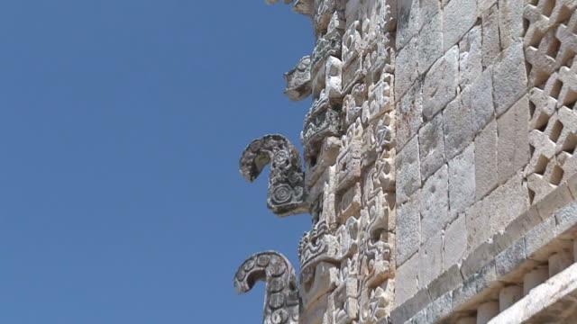 vídeos y material grabado en eventos de stock de ruinas de gobierno - mérida méxico
