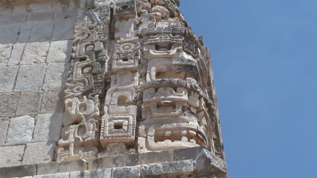 uxmal - latin american civilizations stock videos and b-roll footage