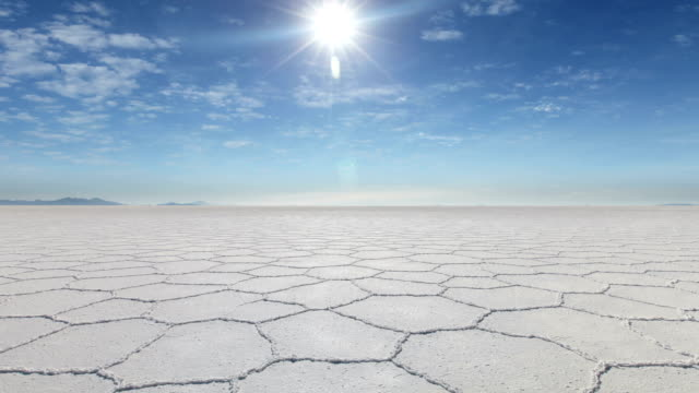uyuni salt flats, bolivia - salt flat stock videos & royalty-free footage