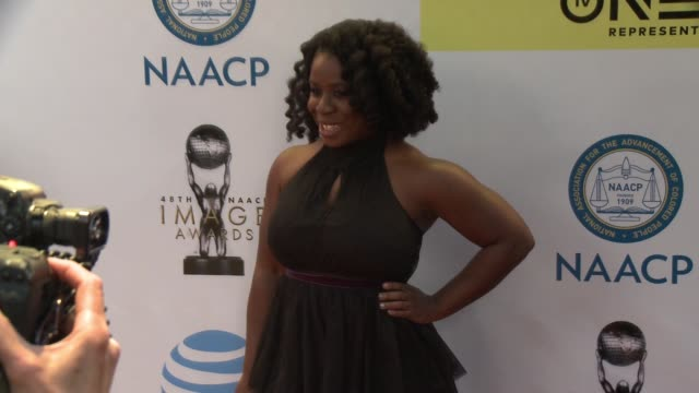 Uzo Aduba at 48th NAACP Image Awards at Pasadena Civic Auditorium on February 11 2017 in Pasadena California