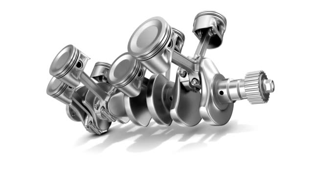 v8 engine - piston stock videos & royalty-free footage
