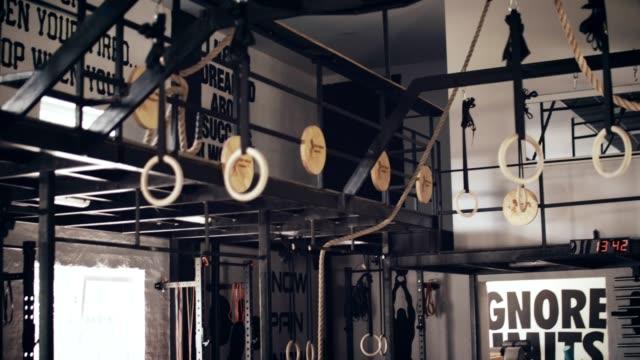 Vakanten Crossfit Ort und Fitness-Studio-Ausrüstung