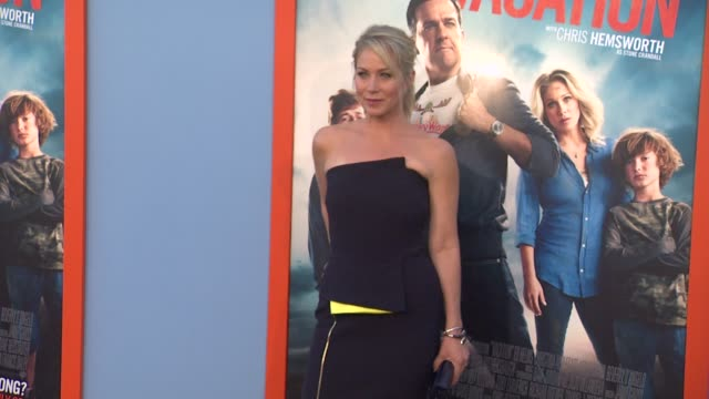clean vacation los angeles premiere at regency village theatre on july 27 2015 in westwood california - regency village theater stock videos and b-roll footage