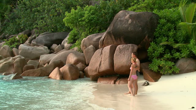hd: vacations at seychelles - seychelles stock videos & royalty-free footage