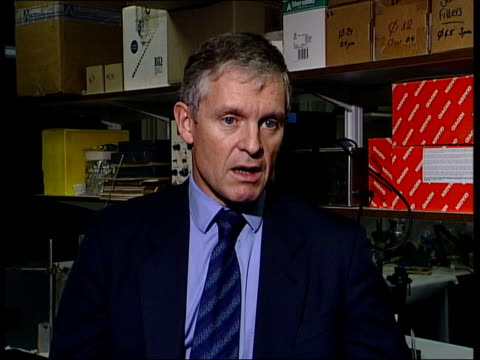 More confusion ITN London Royal Free Hospital Dr Simon Murch speaking to McGinty CMS Dr Simon Murch interview SOT