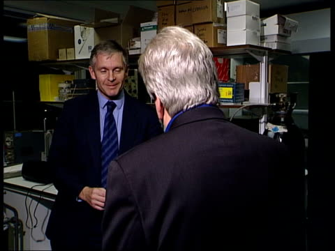 More confusion London Royal Free Hospital Dr Simon Murch speaking to McGinty CMS Dr Simon Murch interview SOT