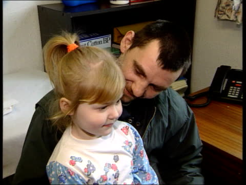 autism link:; itn england: lancs: bolton: int dr robert aston intvwd sot - talks of safety and importance of immunisation london: little girl given... - persons with disabilities stock videos & royalty-free footage