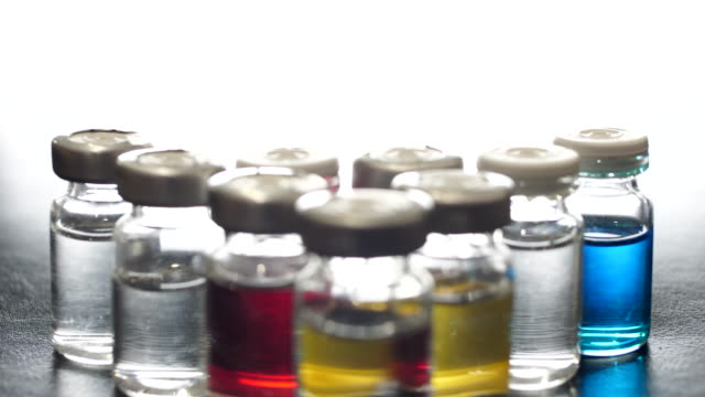 vaccine bottle dolly shot - polio stock videos & royalty-free footage