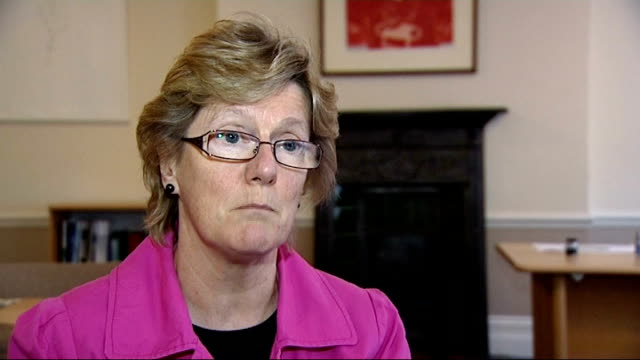 vaccine offered to pregnant women during whooping cough outbreak dame sally davies interview sot - whooping cough stock videos and b-roll footage