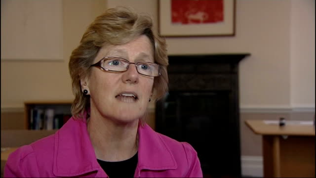 vaccine offered to pregnant women during whooping cough outbreak dame sally davies interview sot ipswich thompson and haynes showing reporter... - whooping cough stock videos and b-roll footage