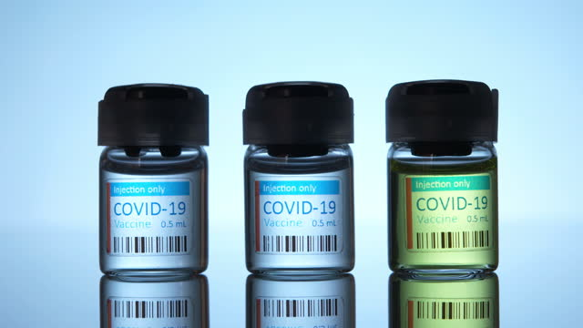 covid-19 vaccine - three objects stock videos & royalty-free footage