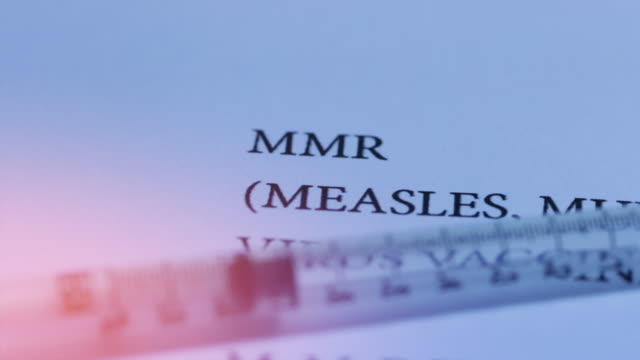 mmr vaccine - vaccination stock videos and b-roll footage