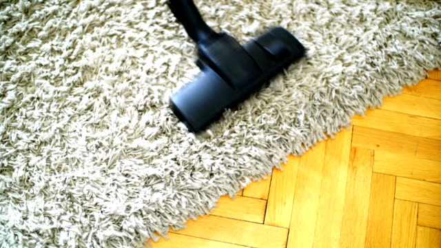 vacuum cleaning. sound included. - vacuum cleaner stock videos & royalty-free footage