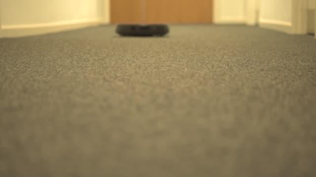 Vacuum Moving Towards Camera