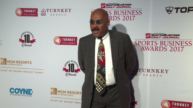 vada o manager at 10th annual sports business awards at the new york marriott marquis on may 24 2017 in new york city - marriott marquis new york stock videos & royalty-free footage