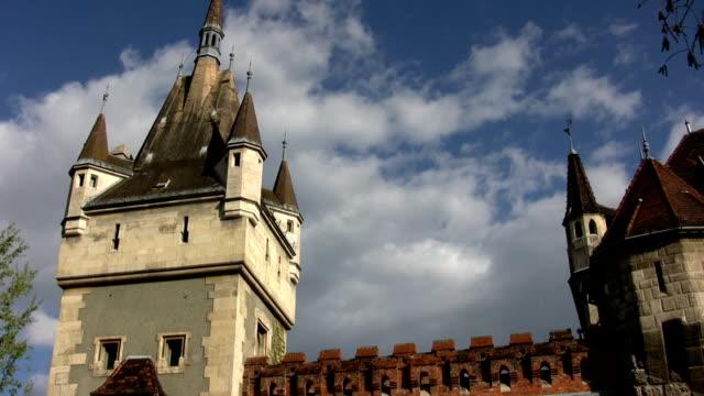 Vajdahunyad Castle in Budapest, Hungary (HD)
