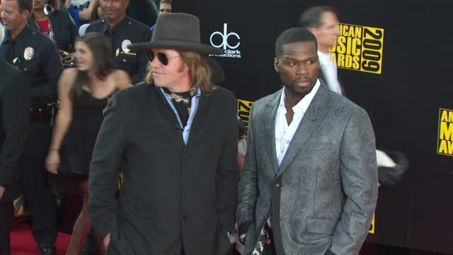val kilmer, 50 cent at the 2009 american music awards - arrivals at los angeles ca. - val kilmer stock videos & royalty-free footage