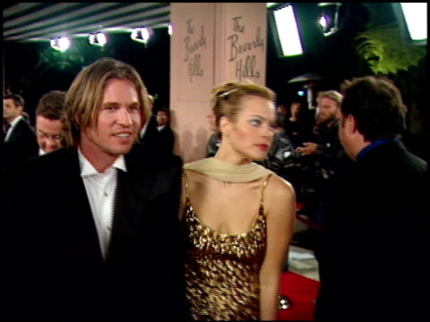 val kilmer at the 1999 academy awards miramax party at the beverly hilton in beverly hills, california on march 21, 1999. - 第71回アカデミー賞点の映像素材/bロール