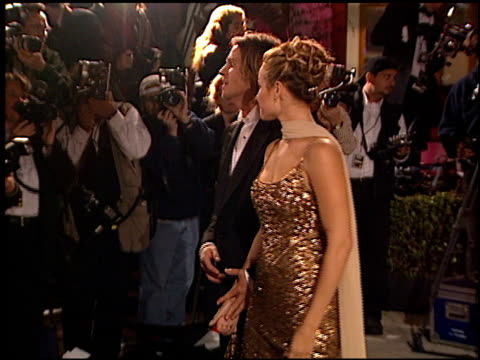 vídeos y material grabado en eventos de stock de val kilmer at the 1999 academy awards vanity fair party at morton's in west hollywood california on march 21 1999 - 71ª ceremonia de entrega de los óscars