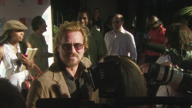 val kilmer at the first star celebration for children's rights at los angeles california. - val kilmer stock videos & royalty-free footage