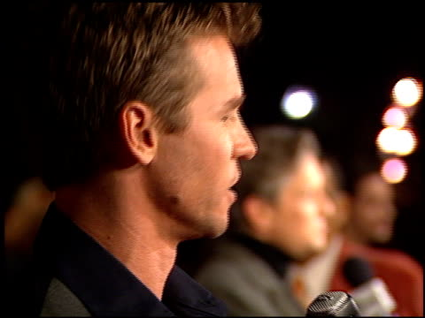val kilmer at the premiere of 'the ghost and the darkness' at paramount studios in hollywood, california on october 3, 1996. - val kilmer stock videos & royalty-free footage