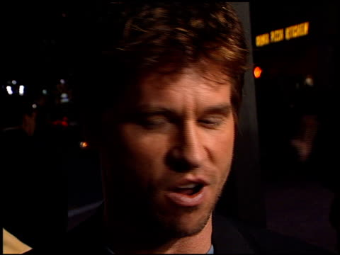 val kilmer at the 'red planet' premiere on november 6, 2000. - val kilmer stock videos & royalty-free footage