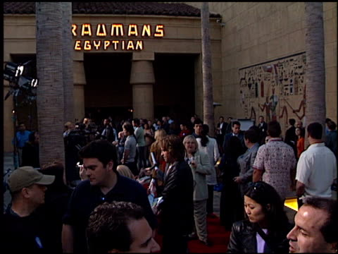 val kilmer at the 'salton sea' at the egyptian theatre in hollywood, california on april 23, 2002. - val kilmer stock videos & royalty-free footage