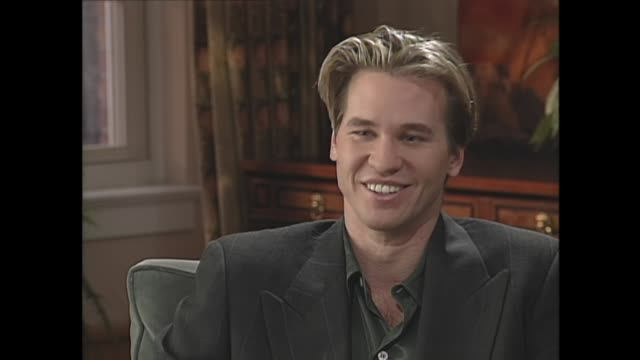 val kilmer on being a serious person - val kilmer stock videos & royalty-free footage