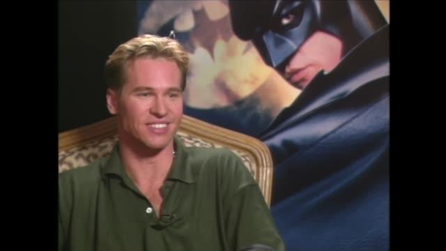 Val Kilmer on Children's Response to Him in the Batman Costume