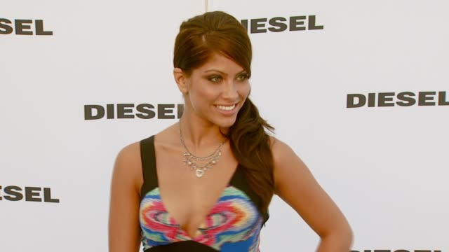 valarie ortiz at the diesel celebrates the opening of the melrose place flagship store at diesel melrose place in los angeles california on may 30... - store opening stock videos & royalty-free footage