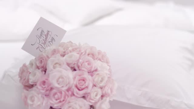 Valentiens day flower bouquet