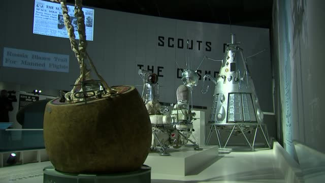valentina tereshkova opens new soviet spacecraft exhibition at science museum; england: london: science museum: int valentina tereshkova at press... - new age stock videos & royalty-free footage
