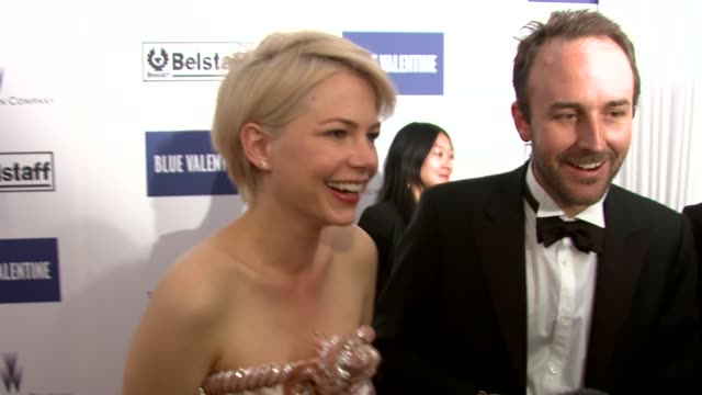 valentine after party at palais stephanie during the 63rd annual cannes film festival on may 19 2010 in cannes france at the blue valentine party... - michelle williams actress stock videos and b-roll footage
