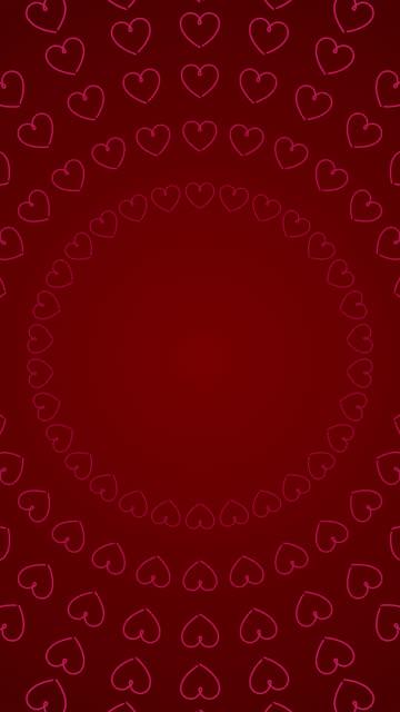 valentinstag animierte liebe herzen kreise konzept hintergrund, 4k nahtlose looped stock video - hoch allgemeine beschaffenheit stock-videos und b-roll-filmmaterial