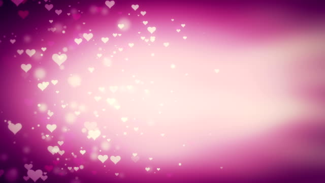 4K Valentine's Day Background Loopable