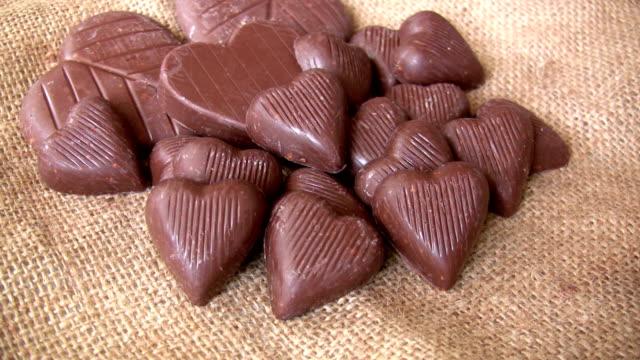 バレンタインデーのチョコレート - バレンタインデー点の映像素材/bロール