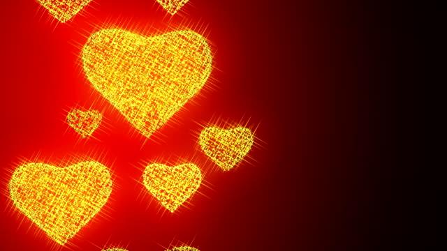 valentinstag hearts - begriffssymbol stock-videos und b-roll-filmmaterial