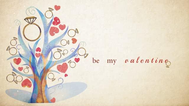 valentine's day - mini series of cartoon like, artistic animation. - oahu stock videos & royalty-free footage