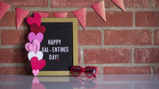 valentine's day stop motion - eyewear stock videos & royalty-free footage