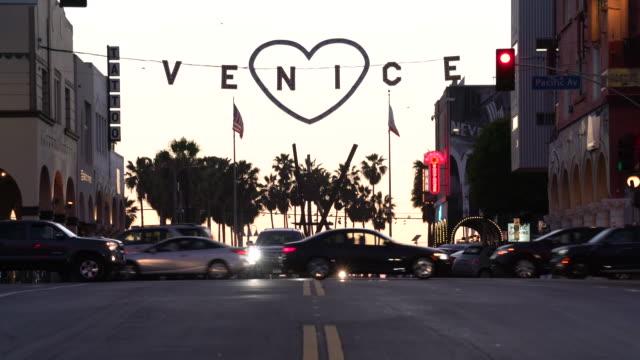 valentine's day venice - venice beach stock videos and b-roll footage