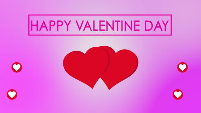 vidéos et rushes de fond de coeur saint-valentin - star shape