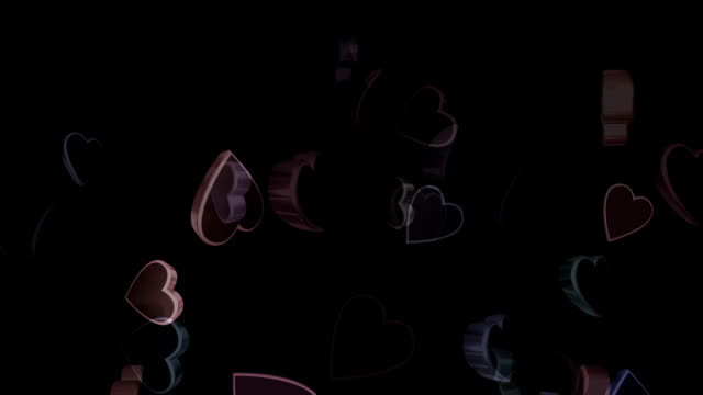 valentines heart (loopable) - high key stock videos and b-roll footage