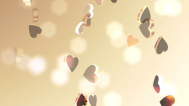 valentines heart (loopable) - valentines background stock videos & royalty-free footage