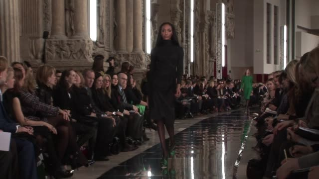 valentino at the valentino: paris fashion week a/w 2009 at paris . - valentino designer label stock videos & royalty-free footage