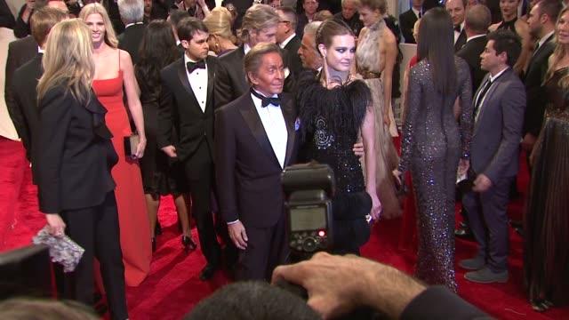 Valentino Garavani and Natalia Vodianova at the 'Alexander McQueen Savage Beauty' Costume Institute Gala At The Metropolitan Museum Of Art at New...