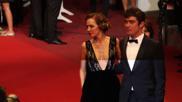 Valeria Golino Riccardo Scamarcio at 'It's Only The End Of The World' Red Carpet at Grand Theatre Lumiere on May 19 2016 in Cannes France