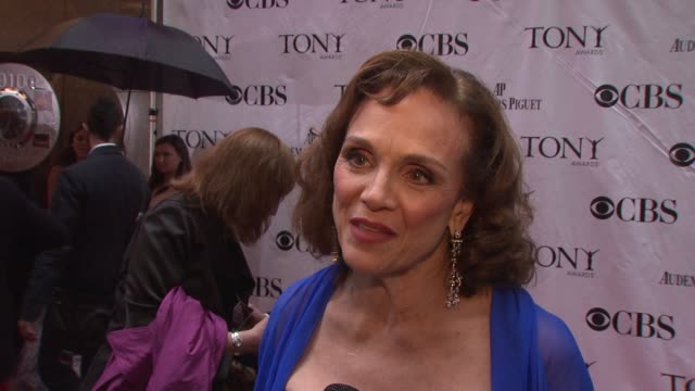 Valerie Harper on being nominated on doing theatres since the 1950s and feeling honored that she's being recognized On what the Tonys means on...